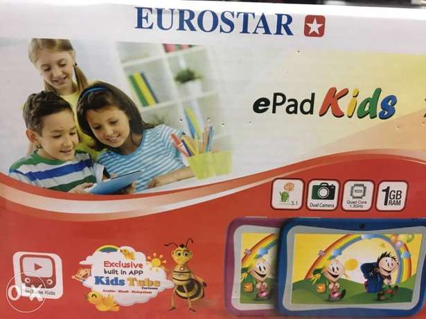 Eurostar ET758KQ-S15 ePad Kids Tablet - 7 Inch, 8GB, Wifi الرياض -  4