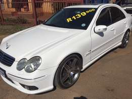 M/Benz C 55 AMG A/T, Trade in welcome