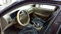 Clean Toyota Corolla for grab