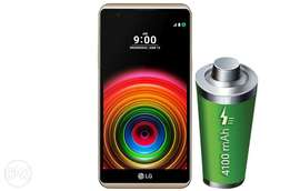 Brandnew LG X POWER powerfull 4100mah battery4G LTE enabled