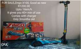 FOR SALE,Zingo X100