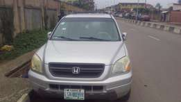 Honda pilot 2005 model for fast sell