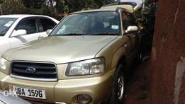 Subaru Forester UBA Non turbo 2004 model in a perfect condition