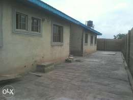 A Room and Parlour Ordinary with Separate Toilet, fenced in Ajobo Ojoo