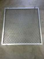 Galvanised Frame/burglar bar/cage cover for sale