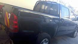 Well Used Toyota Hilux double cabin