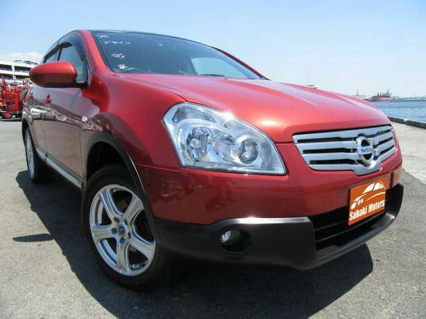 Dualis Red fully loaded with alloy wheels and fog lights Mombasa Island - image 1