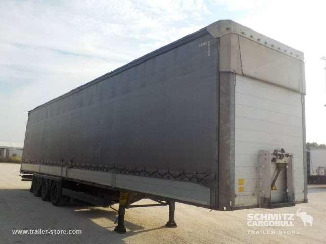 Schmitz Cargobull Rakfelület oldalfalán toló ponyva - 2012