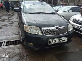 Toyota Fielder clean fully loaded 40th anniversary black