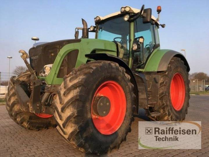 Fendt 933 vario rüfa - 2010