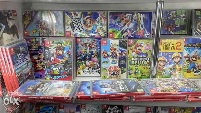 Biggest Collection Of Nintendo Switch Games (New!)