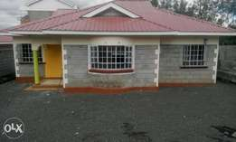 A 3 bedroom bungalow in a gated community Ongata Rongai.
