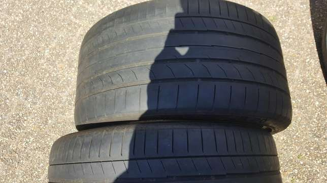 295/30/20 ×2 continental tyres Athlone - image 1