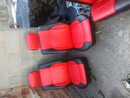 We recover seats;rooflining and sofas