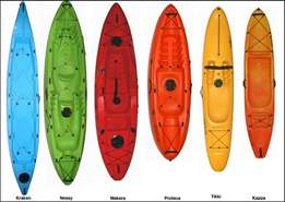 Kayaks for sale - Fishing and recreational.
