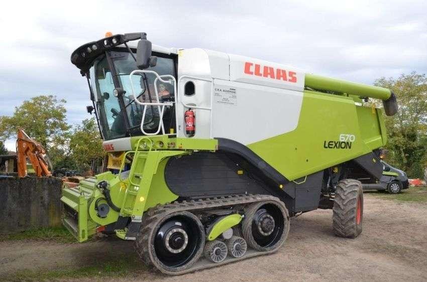Claas Lexion 670 - 2013