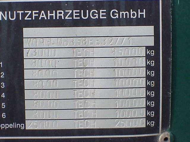 Es-ge 6 axel extebale semie trailer - 2009 - image 6