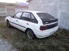 Ford Laser Body on wheels for sale