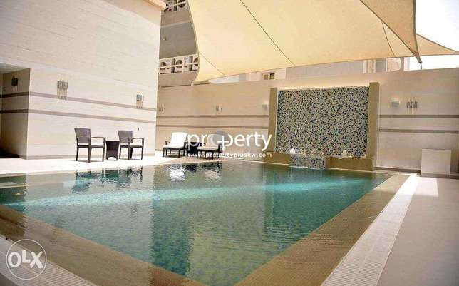 Three bedroom apartment for rent in Salmiya, Kuwait.