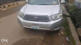 Clean Nigerian Used Toyota Highlander 2008
