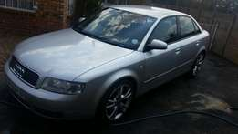Audi A4 1.8T 6 Speed manual 2004