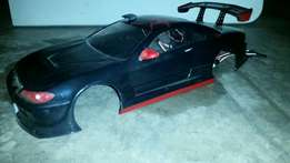 rc nissan sylva body perfect for drifting