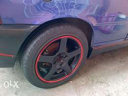 """15"""" mags and tyres 4x100pcd"""
