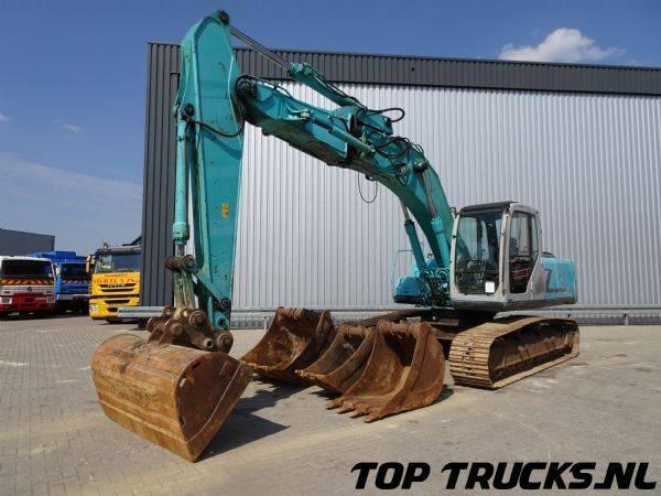 Kobelco SK 210LG-6 Dyn A, Rupskraan, Hydraulic Excavator, Raupenb... - 2002