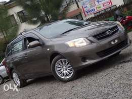 Toyota Fielder brown colour excellent condition 2011 model