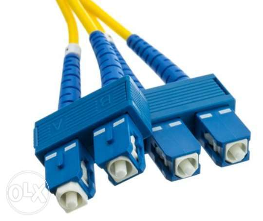 sc to sc single mode fiber optic 5 mtr 10 mtr