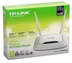 TP-LINK TL-WR843ND 300Mbps Wireless Router and Access Point at Steliam
