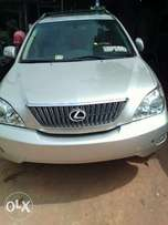 A Clean Foreign Used Gray Colour Lexus RX 2006
