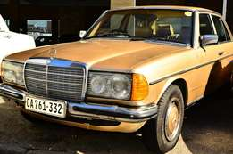 Mercedes Benz W123 200 Manual for Sale
