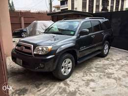clean registered 2006 Toyota 4Runner limited
