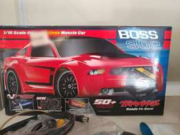 Brand new Traxxas boss 302 brushless 1/16 (cash only)