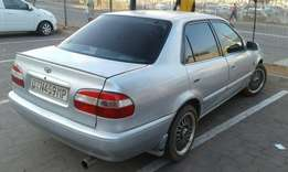 For Sale Toyota Corolla 1.3 Babe Camry still in a good Condition every