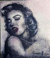 marilyn painting yvonne kruger
