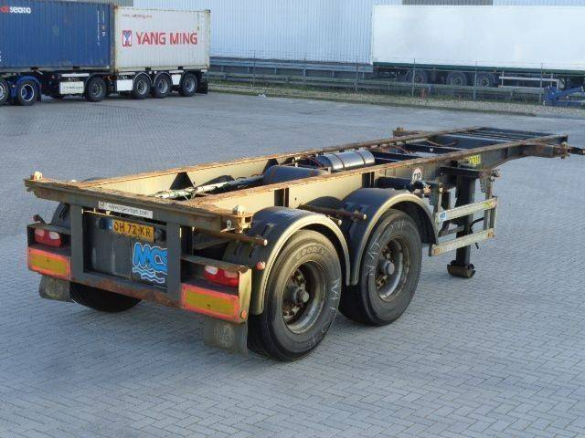 Pacton 2-Axle 20FT Chassis / BPW Axles / NL Trailer / APK - 2004