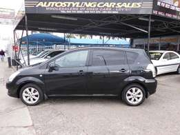 Autostyling Car Sales-East London-08 Toyota Verso 160SX-4 for sale now