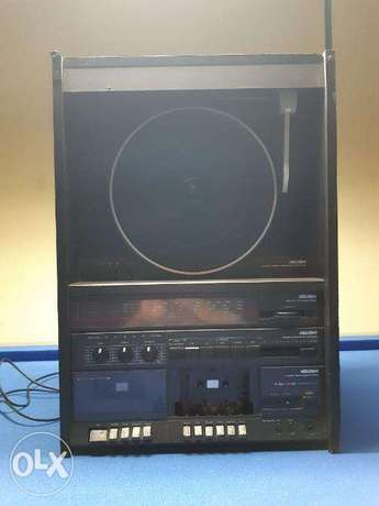 Bush audio system 9000 rare 70s/80s stereo system from France