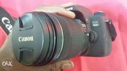Canon 760D with 18-135mm IS STM camera lens