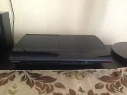 PlayStation 3 with accessories