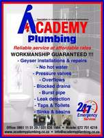 Academy plumbing services