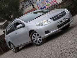 Toyota fielder 2010 model silver colour excellent condition
