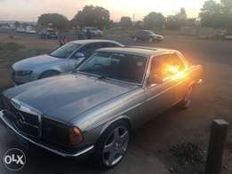 im selling a W123 280CE with lexus vvti V8 engine pushing 216 kw.