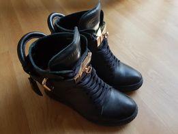 Sneakersy 37 Czarne OLX.pl