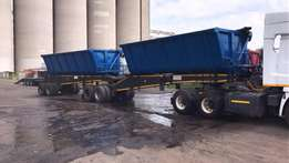 40 Cube Side Tipper Link Trailer 2008 Cargolite