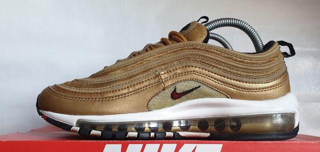 Nike Air Max 97 OG QS Gold Bullet 6.5US39EUR Różan • OLX.pl