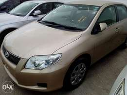 Toyota axio luxel 2010 model Gold color