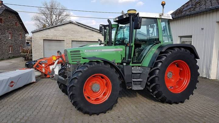 Fendt Favorit 514 C - 1997